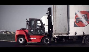 Industrial forklifts MANITOU